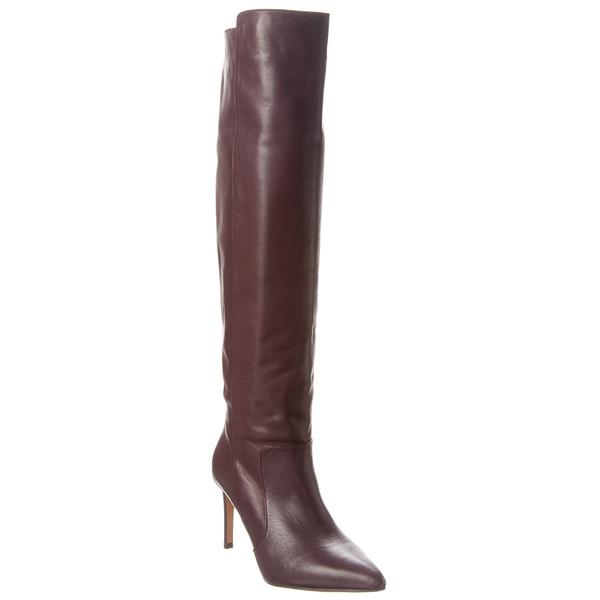 Leather シューズ High Boot ブーツ&レインブーツ Reiss レイス - Knee レディース Zinna