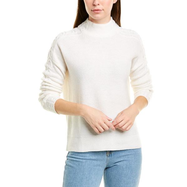 ivory Forte ニット&セーター フォートカシミア Cashmere アウター Cashmere Sweater Rib レディース Mixed
