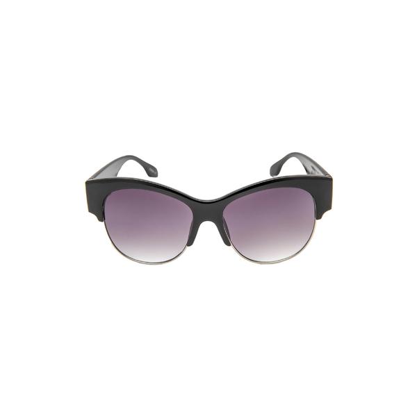 ラッドプラスリファインド レディース サングラス&アイウェア アクセサリー Rad + Refined Gradient Cat Eye Sunglasses Black