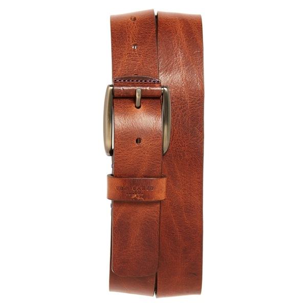 テッドベーカー メンズ ベルト アクセサリー Ted Baker London Jean Leather Belt Tan