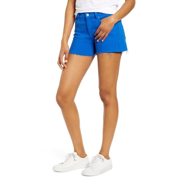 ハドソンジーンズ レディース カジュアルパンツ ボトムス Hudson Jeans Gemma Cutoff Denim Shorts Racer Blue