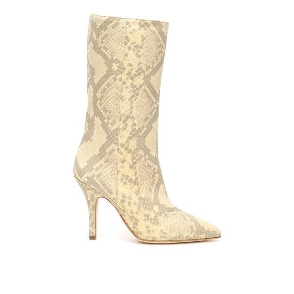 【同梱不可】 パリテキサス レディース ブーツ&レインブーツ シューズ Paris Texas Pointed Toe Knee Length Boots -, Souq dc491c19
