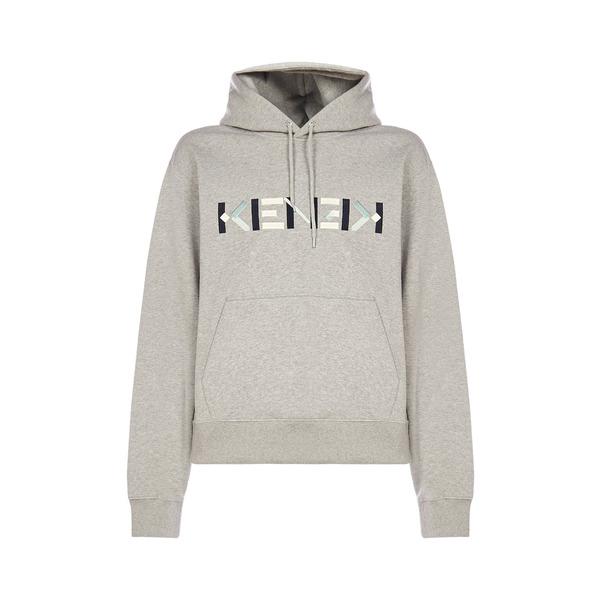 注目 ケンゾー メンズ ニット&セーター アウター Kenzo Logo Embroidered Hoodie -, わくいきライフ e3fbe422