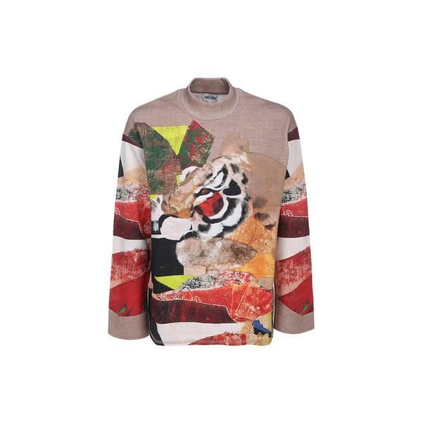 Pomar Sweatshirt ケンゾー レディース - Kenzo ニット&セーター illustration Jlio アウター