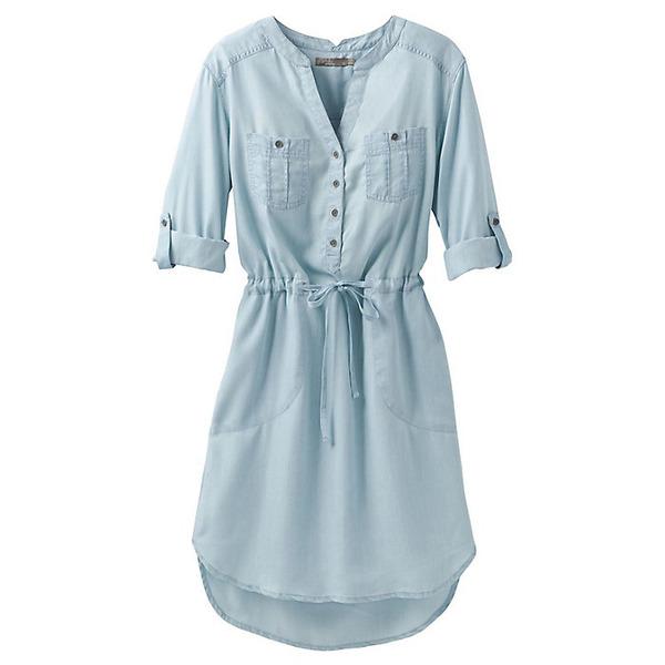 プラーナ レディース ワンピース トップス Prana Women's Abbey Dress Vintage Blue