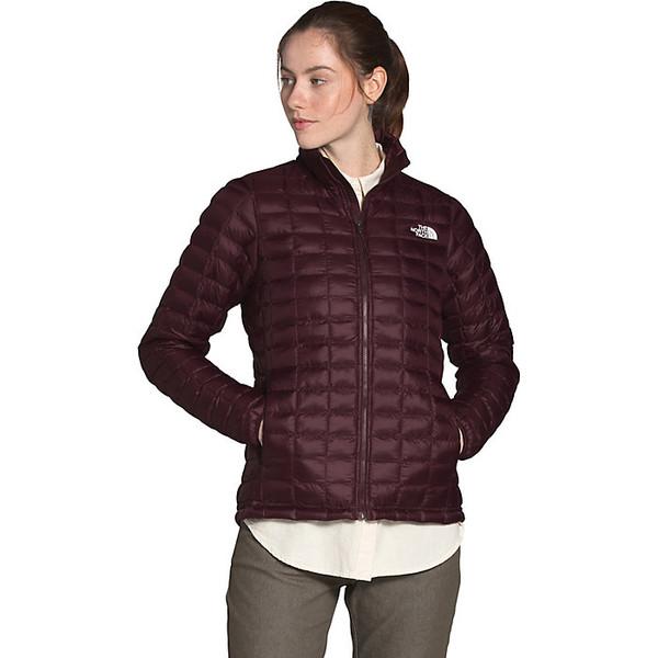 ノースフェイス レディース ジャケット&ブルゾン アウター The North Face Women's ThermoBall Eco Jacket Root Brown Matte
