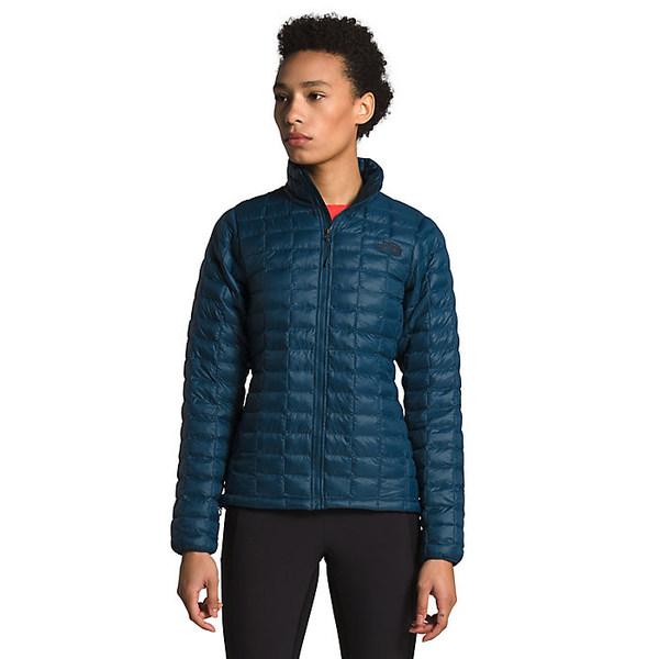 ノースフェイス レディース ジャケット&ブルゾン アウター The North Face Women's ThermoBall Eco Jacket Blue Wing Teal Matte