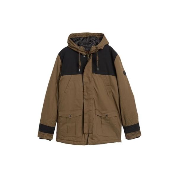 ネイティブユース メンズ ジャケット&ブルゾン アウター Pinxton Hooded Parka Jacket OLIVE