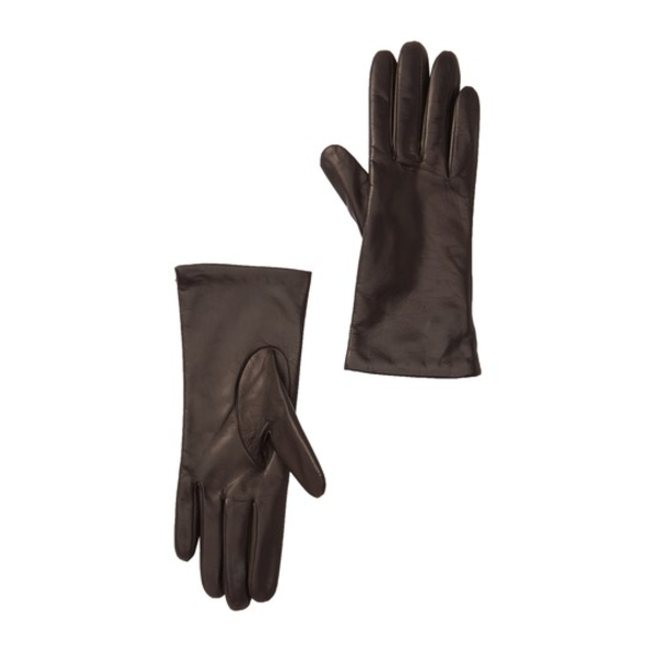 ポートラノ 日本正規品 レディース アクセサリー 手袋 TEAK 全商品無料サイズ交換 Cashmere Lined Gloves Leather 迅速な対応で商品をお届け致します