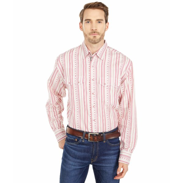 スカーリー メンズ シャツ トップス Patriotic Shirt Red