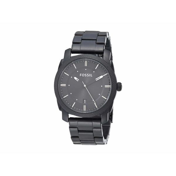 新品?正規品  フォッシル メンズ 腕時計 アクセサリー Machine Three-Hand Watch FS4775IE Smoke Stainless Steel, 美食街道 d717871d