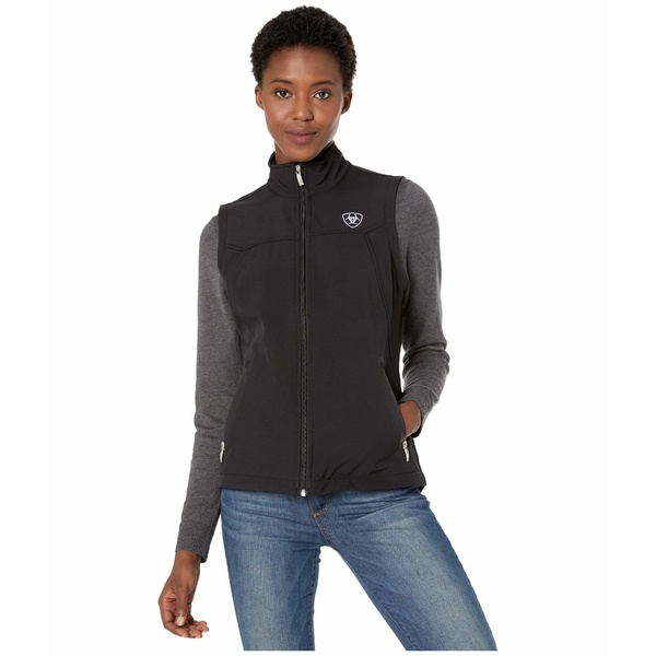 アリアト レディース コート アウター New Team Softshell Vest Black