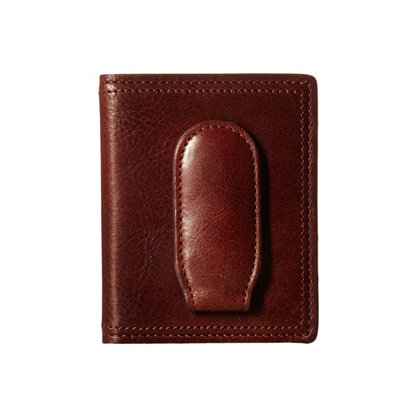 ボスカ メンズ 財布 アクセサリー Dolce Collection - Deluxe Front Pocket Wallet Dark Brown