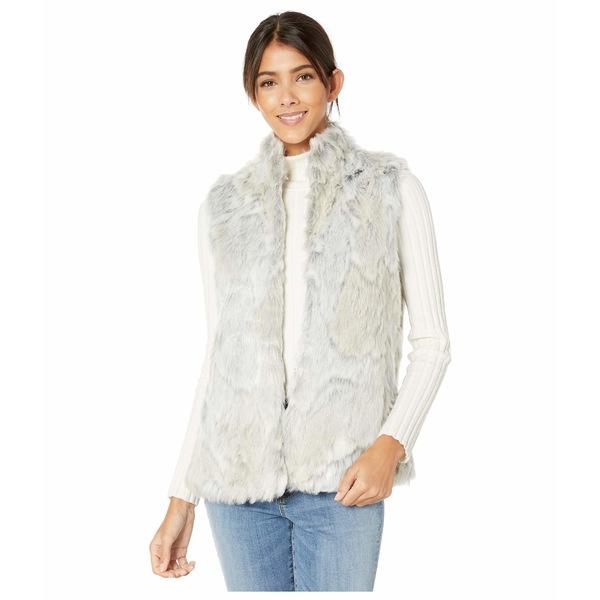 ビービーダコタ レディース コート アウター In A Furry Vest Ivory
