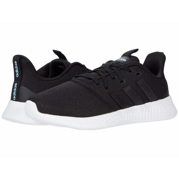 アディダス レディース スニーカー シューズ Puremotion Core Black/Core Black/Footwear White 1