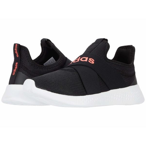 アディダス レディース スニーカー シューズ Puremotion Adapt Core Black/Signal Pink/Footwear White