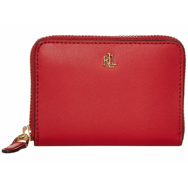 ラルフローレン レディース 財布 アクセサリー Small Zip Wallet Red