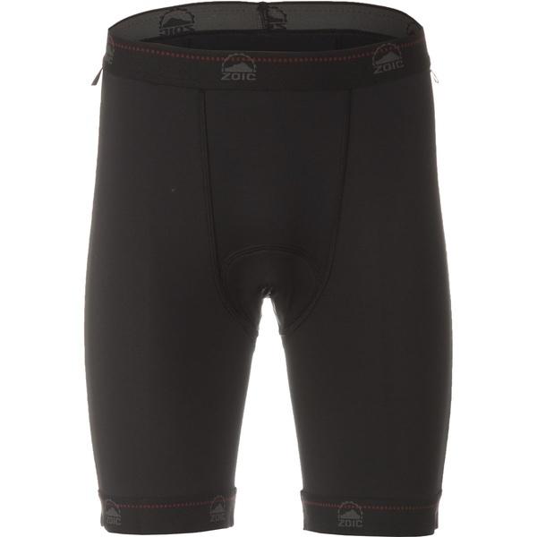 ゾイック メンズ サイクリング スポーツ Premium Liner Shorts Black-2018