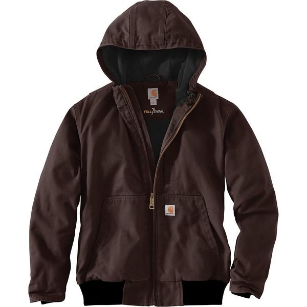 カーハート メンズ ジャケット&ブルゾン アウター Full Swing Armstrong Active Jacket Dark Brown