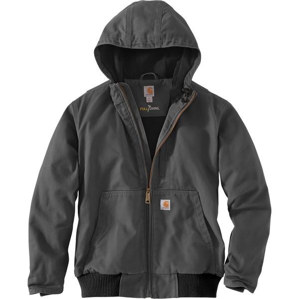 カーハート メンズ ジャケット&ブルゾン アウター Full Swing Armstrong Active Jacket Gravel