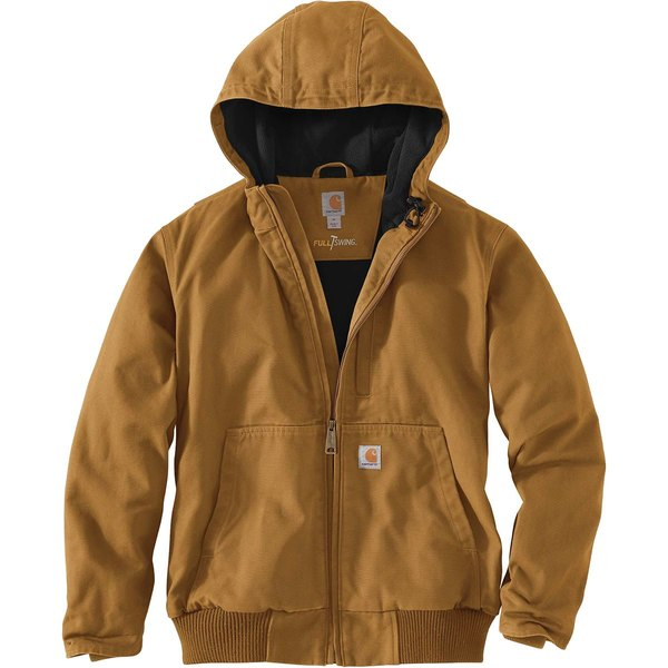 カーハート メンズ ジャケット&ブルゾン アウター Full Swing Armstrong Active Jacket Carhartt Brown
