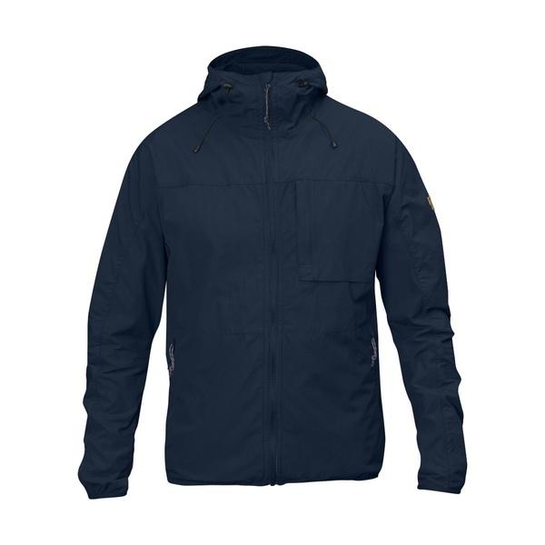 フェールラーベン メンズ ジャケット&ブルゾン アウター High Coast Wind Jacket Navy