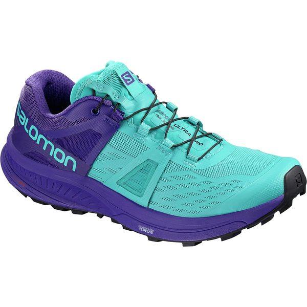 サロモン レディース スニーカー シューズ Ultra Pro Trail Running Shoe Bluebird/Deep Blue/Black