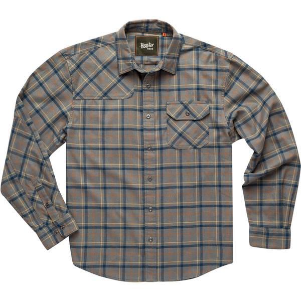 ハウラーブラザーズ メンズ シャツ トップス Harkers Flannel Shirt Frio Plaid: Pigeon Grey