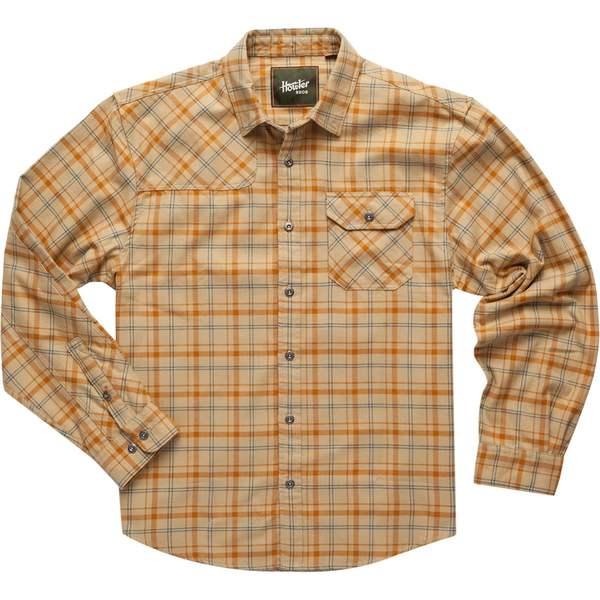 ハウラーブラザーズ メンズ シャツ トップス Harkers Flannel Shirt Frio Plaid: Sahara Tan