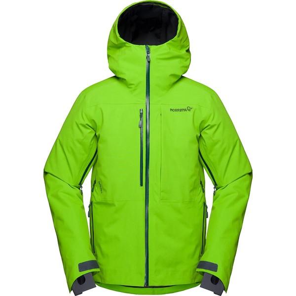 ノローナ メンズ スキー スポーツ Lofoten Gore-Tex Insulated Jacket Bamboo Green