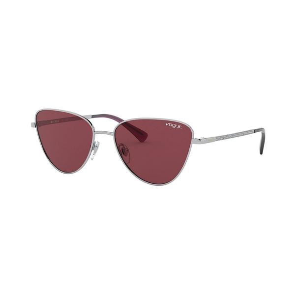 ヴォーグ レディース アクセサリー サングラス アイウェア SILVER DARK VO4145SB OUTLET SALE 全商品無料サイズ交換 新生活 VIOLET 54 Eyewear Sunglasses