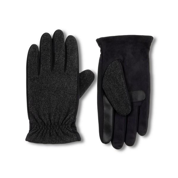 アイソトナー 10%OFF メンズ アクセサリー 手袋 Dark Charcoal 全商品無料サイズ交換 Men's Isotoner Touchscreen Lined 期間限定今なら送料無料 Gloves Casual