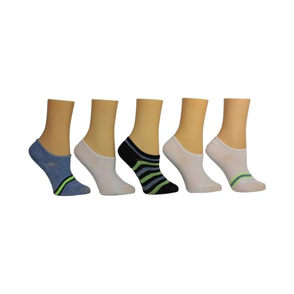 スティーブ マデン レディース シューズ スニーカー Blue Multi 全商品無料サイズ交換 Pack of Sneaker Socks お買い得 全品最安値に挑戦 Women's 5 Stripe