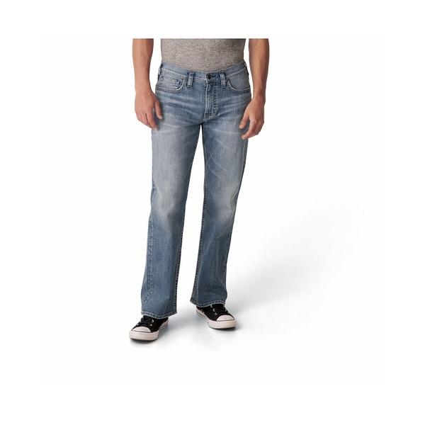 シルバージーンズ メンズ ボトムス デニムパンツ 返品送料無料 Indigo 全商品無料サイズ交換 Men's Easy Grayson Fit Leg Straight Jeans 卓抜