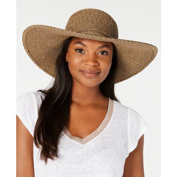スカラ レディース アクセサリー 帽子 Coffee 全商品無料サイズ交換 Floppy Big-Brim Black Hat 送料無料 送料無料でお届けします
