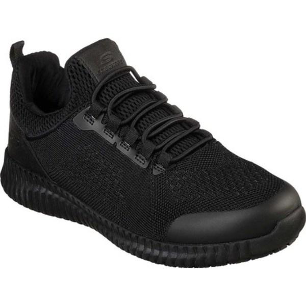 スケッチャーズ レディース ブーツ&レインブーツ シューズ Work Relaxed Fit Cessnock Carrboro SR Sneaker Black