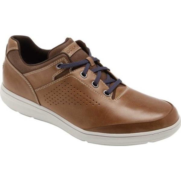 ロックポート メンズ ドレスシューズ シューズ Zaden UBal Oxford Sneaker Boston Tan Leather