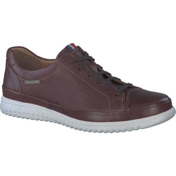 メフィスト メンズ スニーカー シューズ Thomas Sneaker Hazelnut Oregon Tumbled Leather