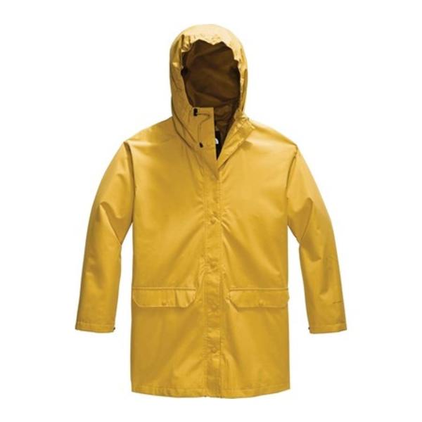 ノースフェイス レディース ジャケット&ブルゾン アウター Woodmont Rain Jacket Bamboo Yellow