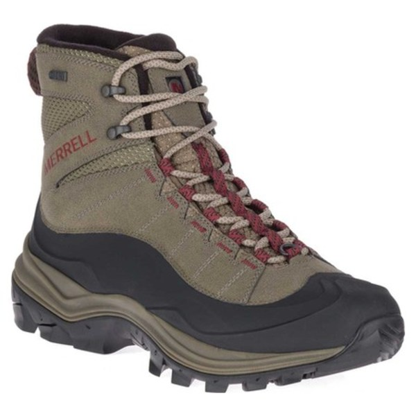 メレル メンズ ブーツ&レインブーツ シューズ Thermo Chill Mid Shell Waterproof Hiking Boot Boulder Polyurethane Coated Leather/Mesh