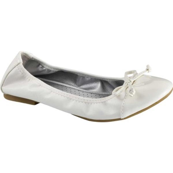 リアルト レディース サンダル シューズ Sunnyside II Ballet Flat White Patent Polyurethane