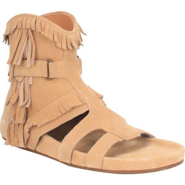 ディンゴ レディース サンダル シューズ Sunny Day Fringe Sandal DI 138 Natural Leather