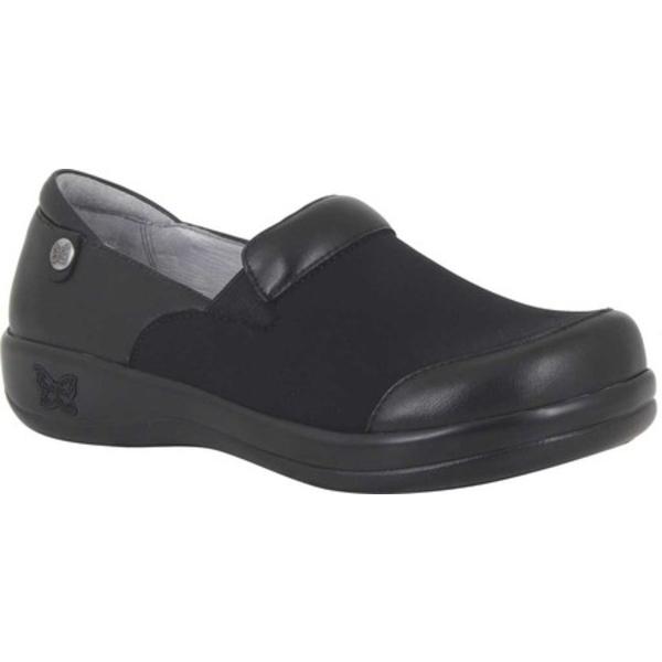 アレグリア レディース スニーカー シューズ Keli Pro Clog Black Nappa Stretch Leather