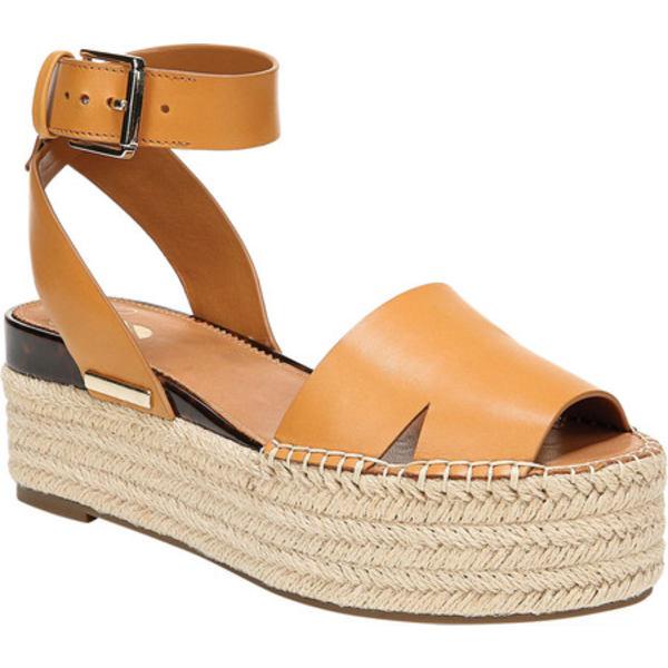 サルトバイフランコサルト レディース サンダル シューズ Lexie Ankle Strap Espadrille Sandal Camel Lapacho Leather