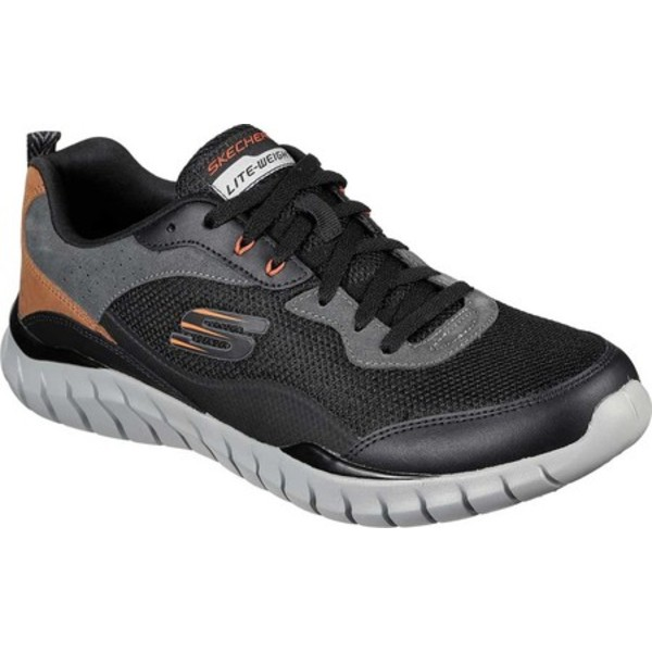 スケッチャーズ メンズ スニーカー シューズ Overhaul Betley Sneaker Black/Charcoal