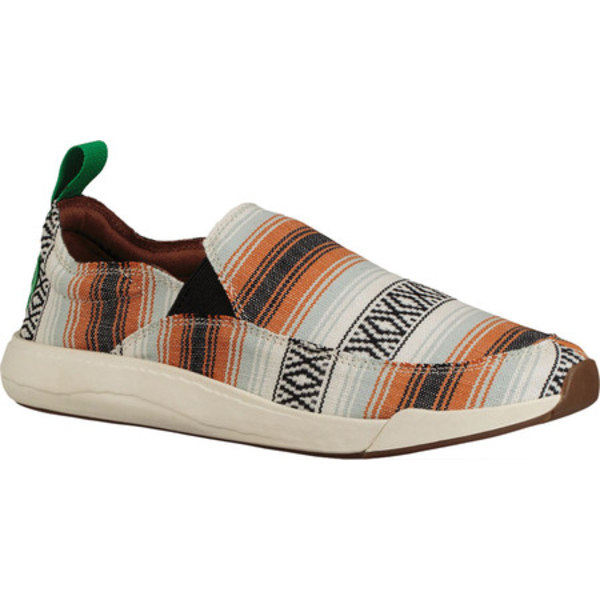 サヌーク メンズ スニーカー シューズ Chiba Quest TX Slip-On Sneaker Multi Baja Blanket Knit