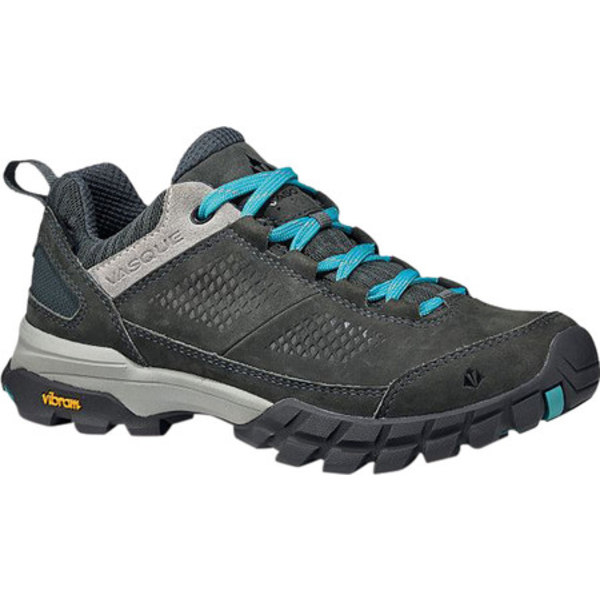 バスク レディース ブーツ&レインブーツ シューズ Talus All-Terrain Low UltraDry Hiking Shoe Dark Slate/Baltic Waterproof Nubuck/Mesh