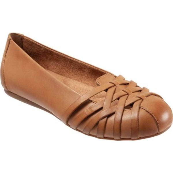 ソフトウォーク レディース サンダル シューズ St Lucia Flat Saddle Leather