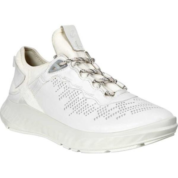 エコー レディース スニーカー シューズ ST.1 Lite Sneaker White/White Nappa Leather
