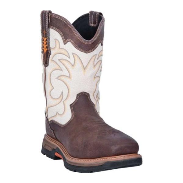 ダンポスト メンズ ブーツ&レインブーツ シューズ Storm Tide Composite Toe Boot DP59411 Bone Waterproof Full Grain Leather